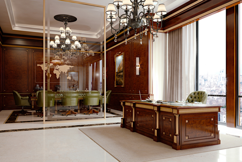 http://www.elleduearredamenti.com/tailor-made-projects/rome-a-classic-private-office/